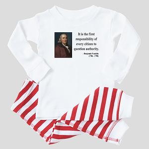 Benjamin Franklin 17 Baby Pajamas
