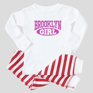 Brooklyn Girl Baby Pajamas