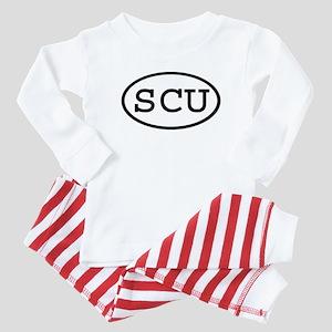 SCU Oval Baby Pajamas