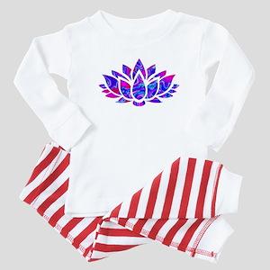 Lotus flower Baby Pajamas