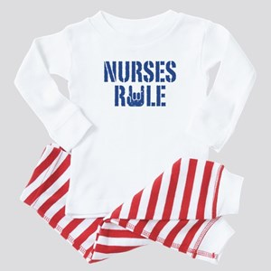 Nurses Rule Baby Pajamas