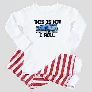 How I Roll RV Baby Pajamas