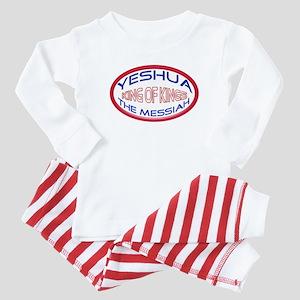 Yeshua The Messiah, King Of Kings Baby Pajamas