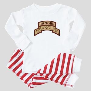 75th Ranger STB Scroll/Tab De Baby Pajamas