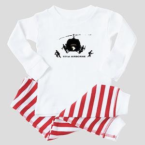 101st airborne Baby Pajamas