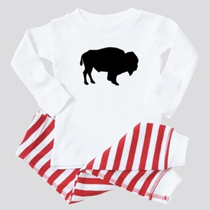 Buffalo Silhouette Baby Pajamas