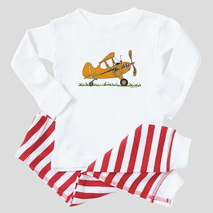 Cub Airplane Baby Pajamas