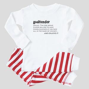 Goaltender Baby Pajamas