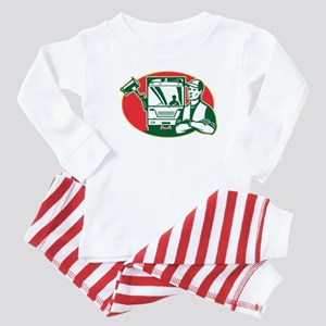 Garbage Collector Baby Pajamas