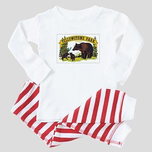 YELLOWSTONE PARK Baby Pajamas