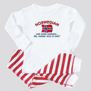 Good Lkg Norwegian 2 Baby Pajamas