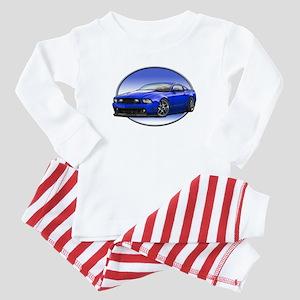 GT Stang Blue Baby Pajamas
