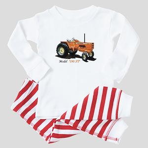 Antique Tractors Baby Pajamas