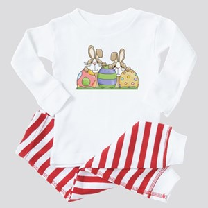 Easter Bunny Inside Easter Egg Baby Pajamas