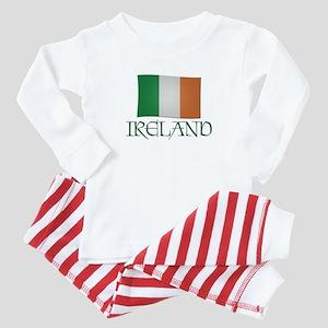 Ireland Flag Baby Pajamas