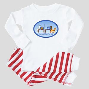What You Eat Baby Pajamas