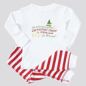 The Best Way to Spread Christmas Cheer Baby Pajama