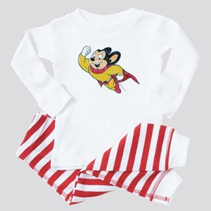 Vintage Mighty Mouse Baby Pajamas