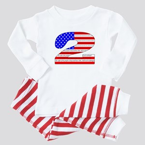 Keep our rights Baby Pajamas