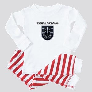 5th Special Forces Group Baby Pajamas