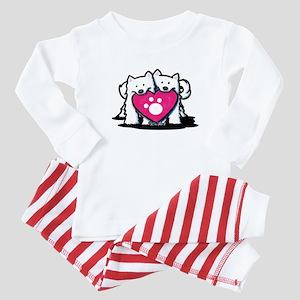 Valentine Duo Baby Pajamas