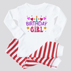 Birthday Girl Baby Pajamas