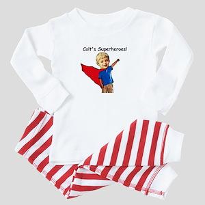 Colt's Superheroes Baby Pajamas
