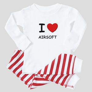 I love airsoft  Baby Pajamas