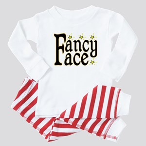 Fancy Face Baby Pajamas