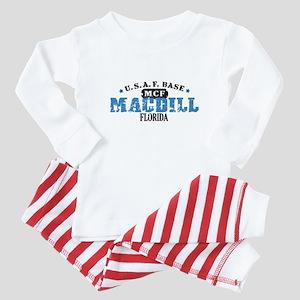 MacDill Air Force Base Baby Pajamas