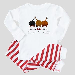 Nothin' Butt Doxies Baby Pajamas