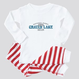 Crater Lake 3 Baby Pajamas