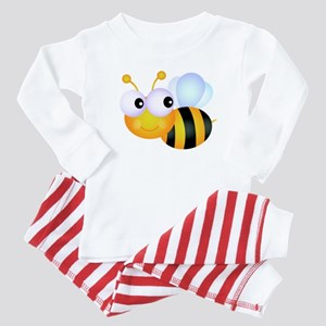Cute Cartoon Bumble Bee Baby Pajamas