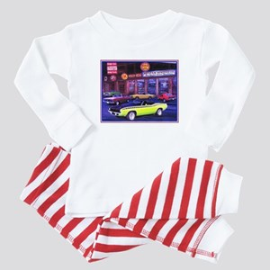 Mopar Madness Car Dealer Baby Pajamas