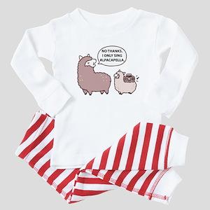 Alpacapella Baby Pajamas