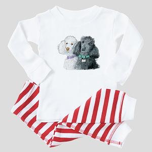 Two Poodles Baby Pajamas