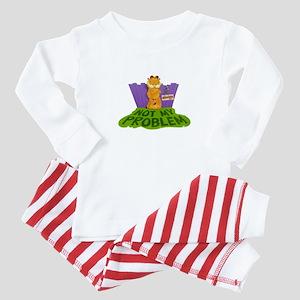 Not My Problem Baby Pajamas