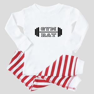 GYM RAT Baby Pajamas