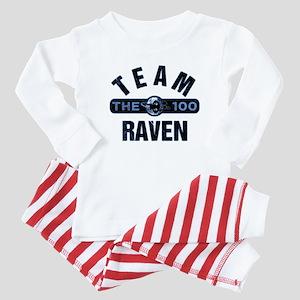 The 100 Team Raven Baby Pajamas