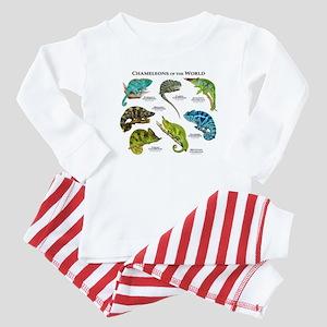 Chameleons of the World Baby Pajamas