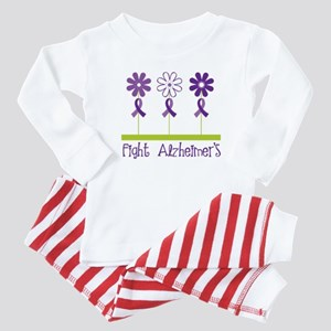 Fight Alzheimers Baby Pajamas