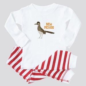 NEW MEXICO Roadrunner Baby Pajamas