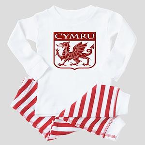 CYMRU Wales Baby Pajamas