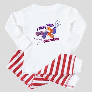 Play with Microbes Baby Pajamas