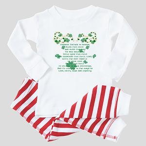 Irish Christening Prayer Baby Pajamas