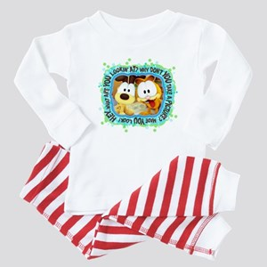 Goofy Faces Baby Pajamas