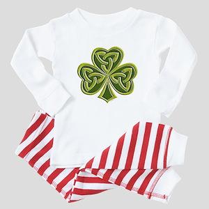Celtic Trinity Baby Pajamas
