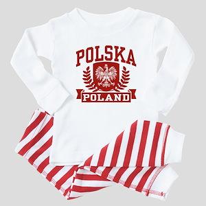 Polska Poland Baby Pajamas