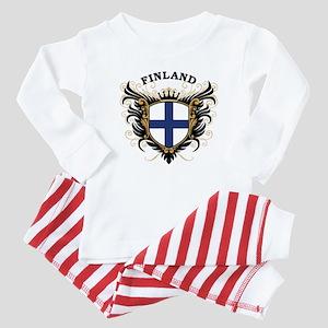 Finland Baby Pajamas