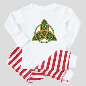 Celtic Trinity Knot Baby Pajamas
